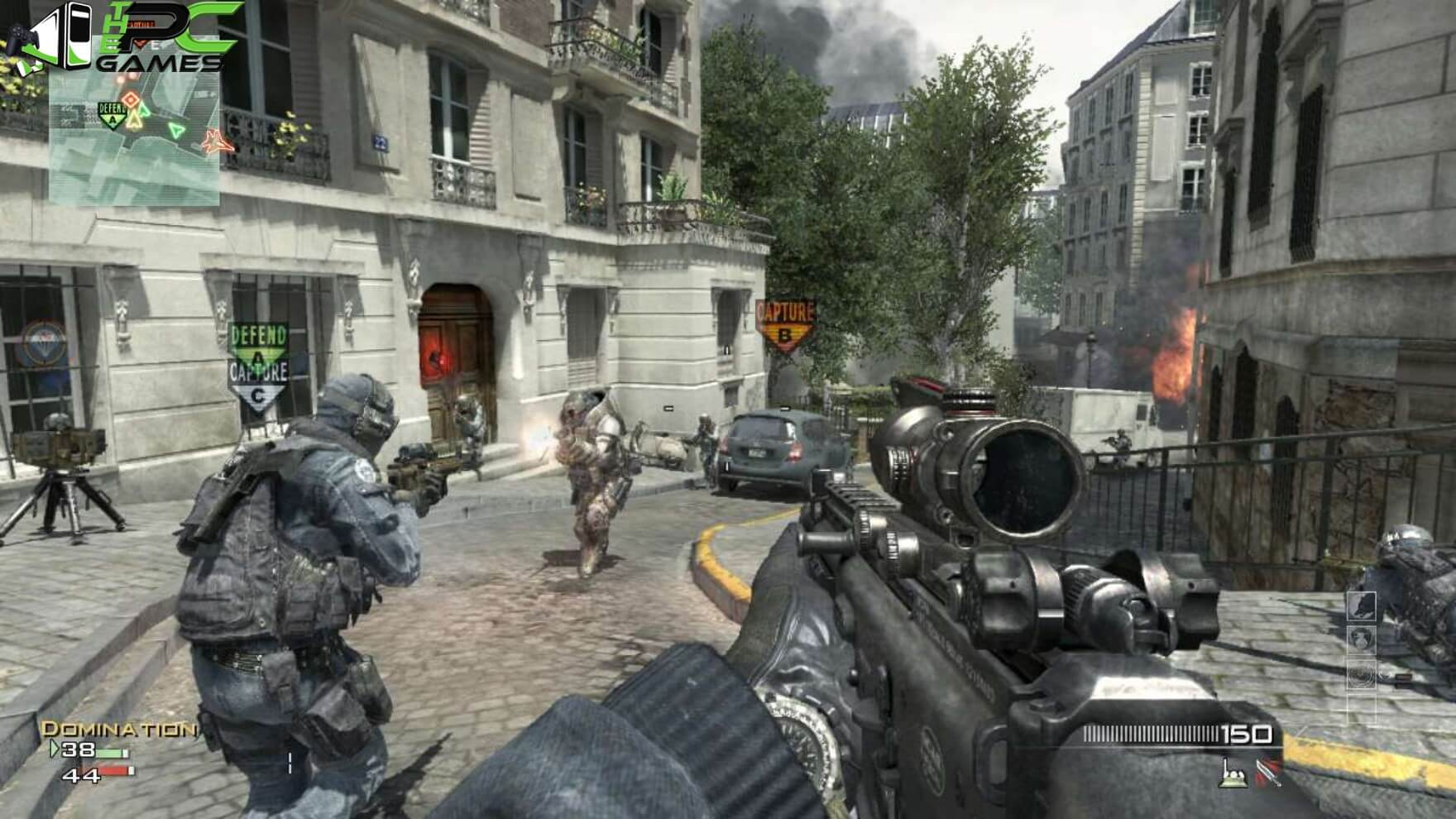 call of duty 4 highly compressed 98mb