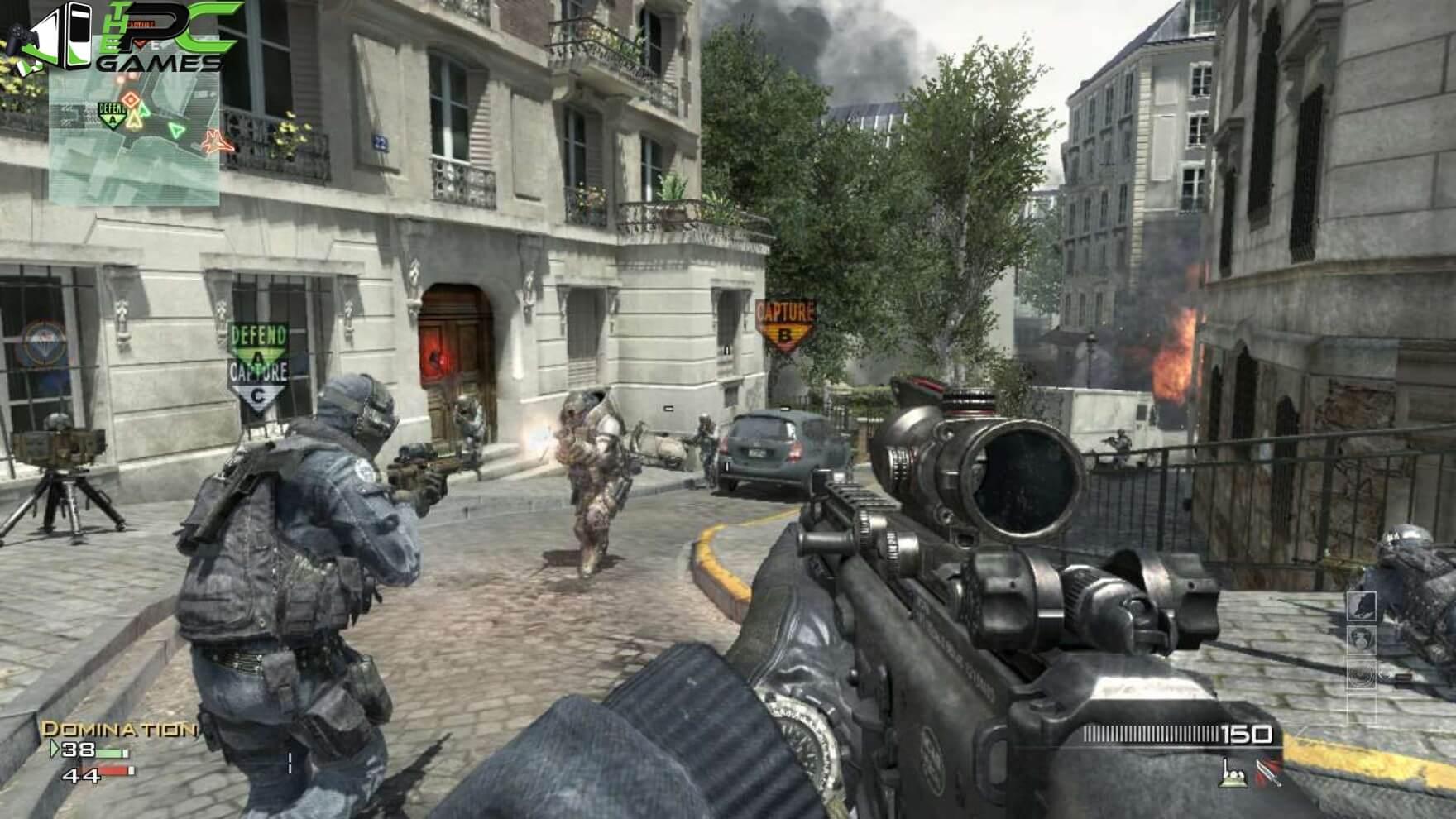 modern warfare free download pc full version