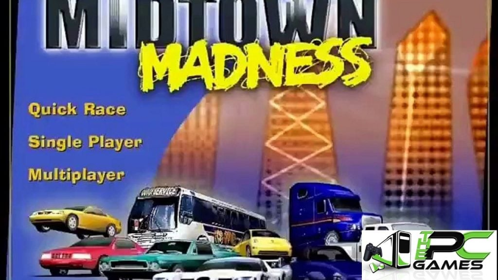 Midtown Madness 1 Pc Game