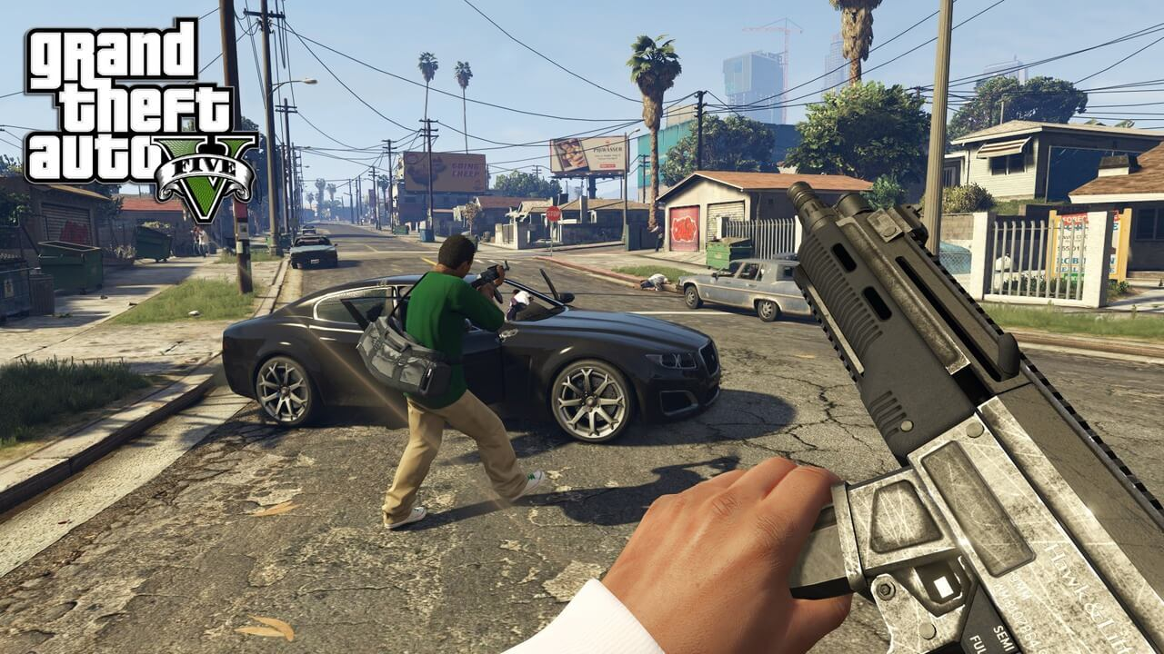 Grand Theft Auto V Pc Game Free Download