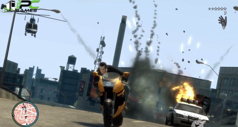 Grand Theft Auto iv PC Game Free Download