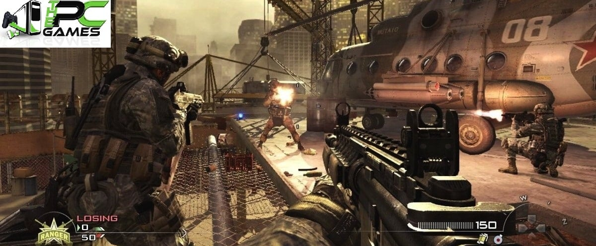 call of duty modern warfare 2 highly compressed 10mb