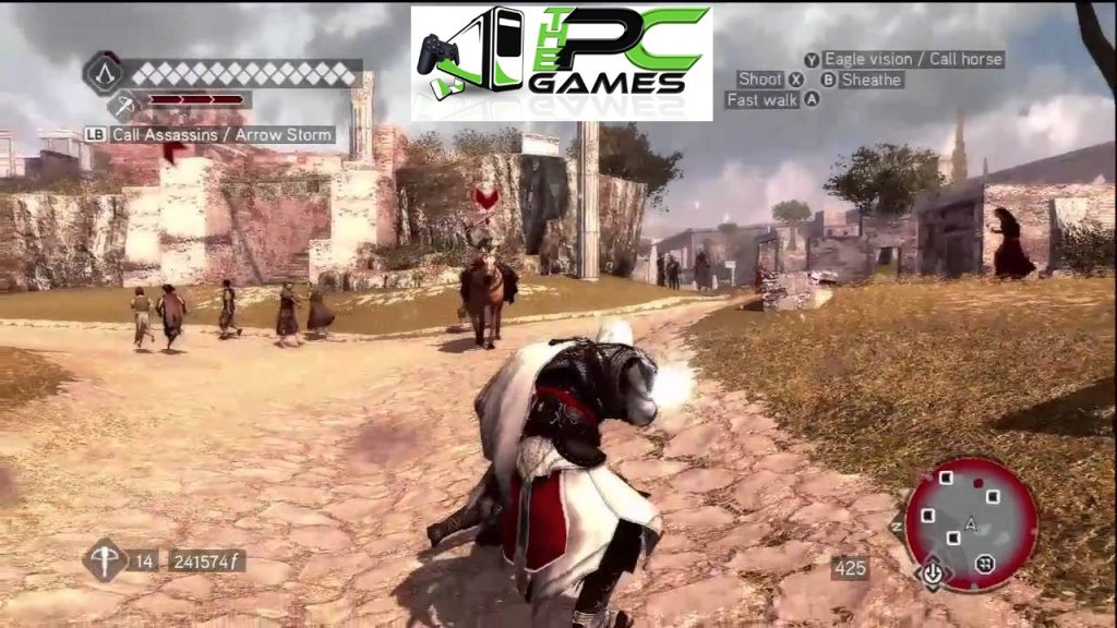 assassins creed brotherhood game free download for pc highly compressed