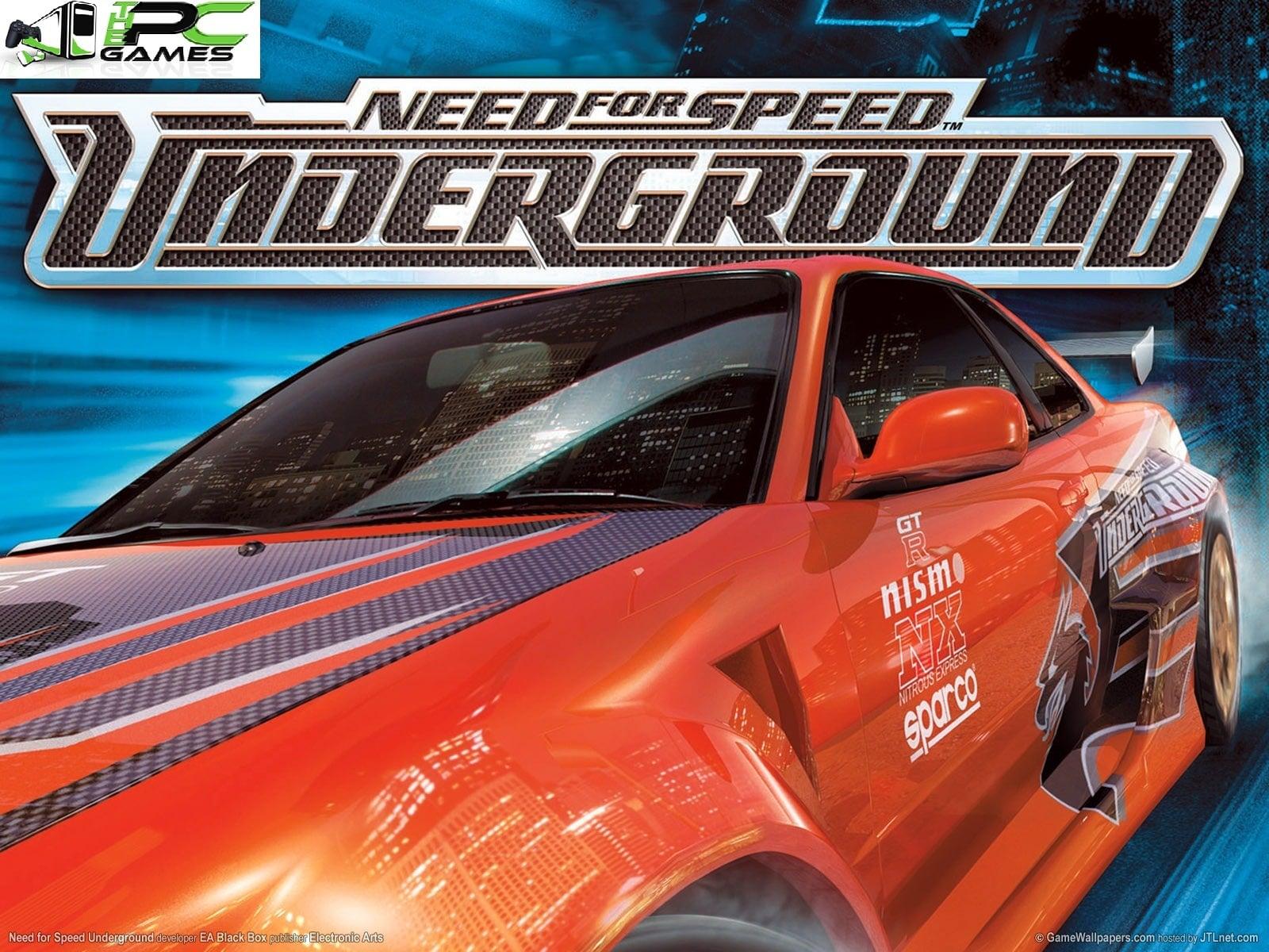 Need For Speed Underground Pc Game