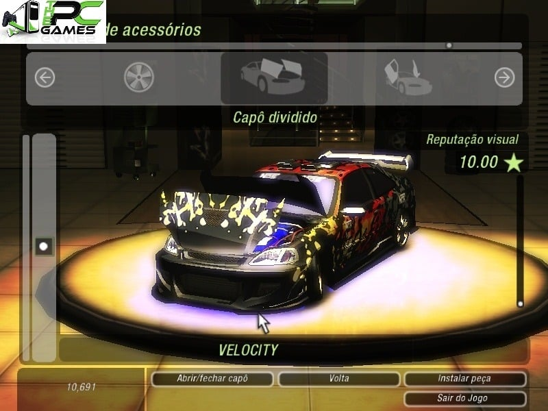 Need for speed underground rivals full game free pc, download.