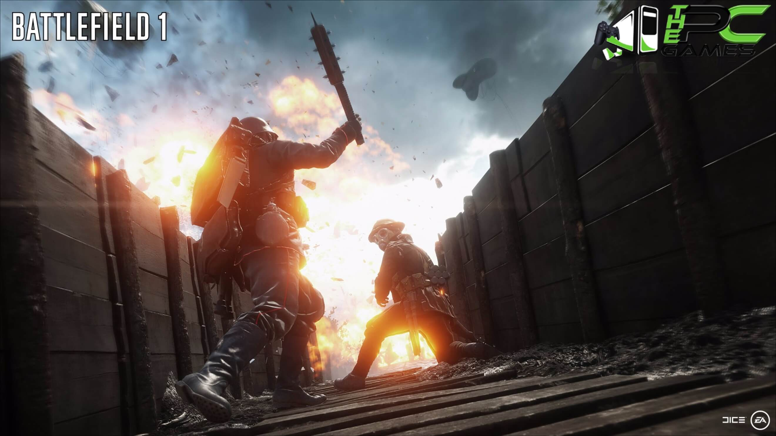 Battlefield 1 Pc Game All Dlcs Highly Compressed Free