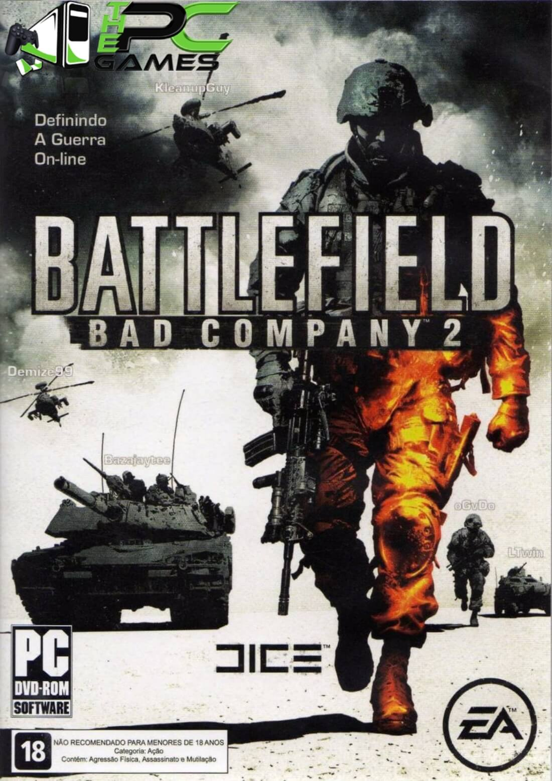 Battlefield Bad Company 2 Pc Game Free cover