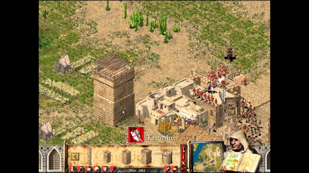 Stronghold 1 PC Game Screenshots