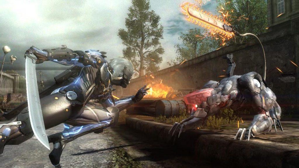 Metal Gear Rising Revengeance PC Game
