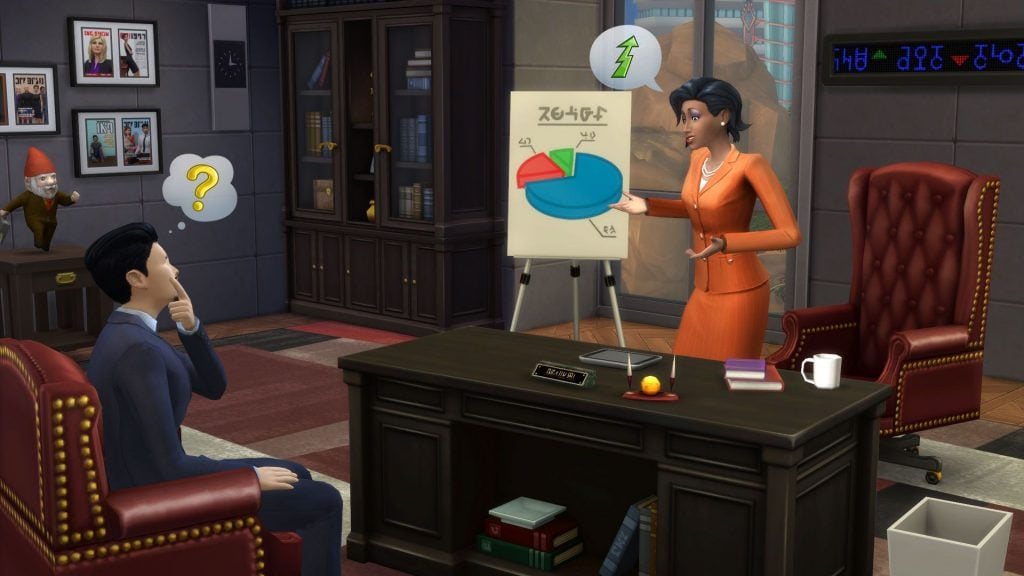 The Sims 4 Get To Work PC Game