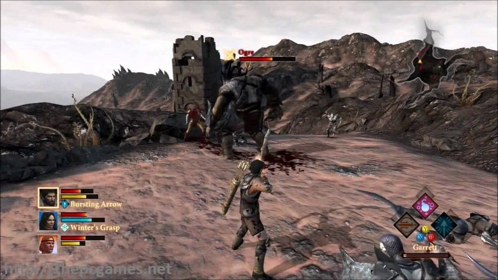 Specifications Of Dragon Age II PC Game
