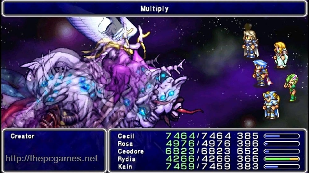 FINAL FANTASY IV THE AFTER YEARS PC Game Free Download