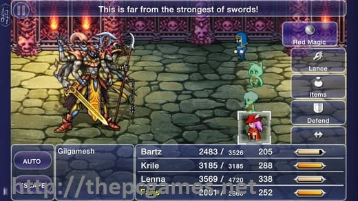 FINAL FANTASY V PC Game Full Version Free Download by www.thepcgames.net