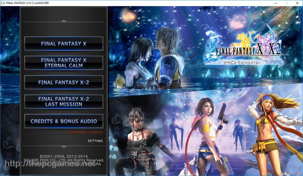 Final Fantasy X/X-2 HD Remaster PC Game Full Version Free Download