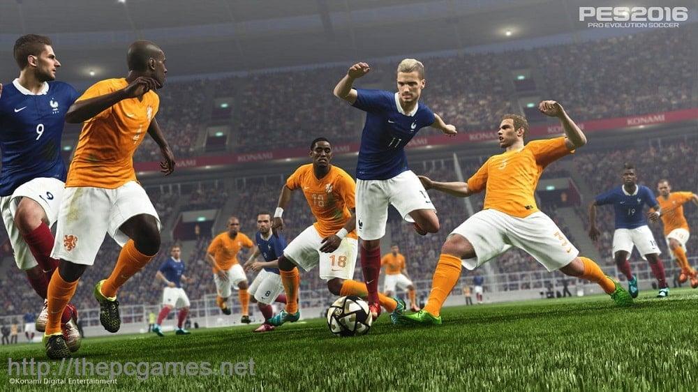 PRO EVOLUTION SOCCER 2016 PC Game Full Version Free Download
