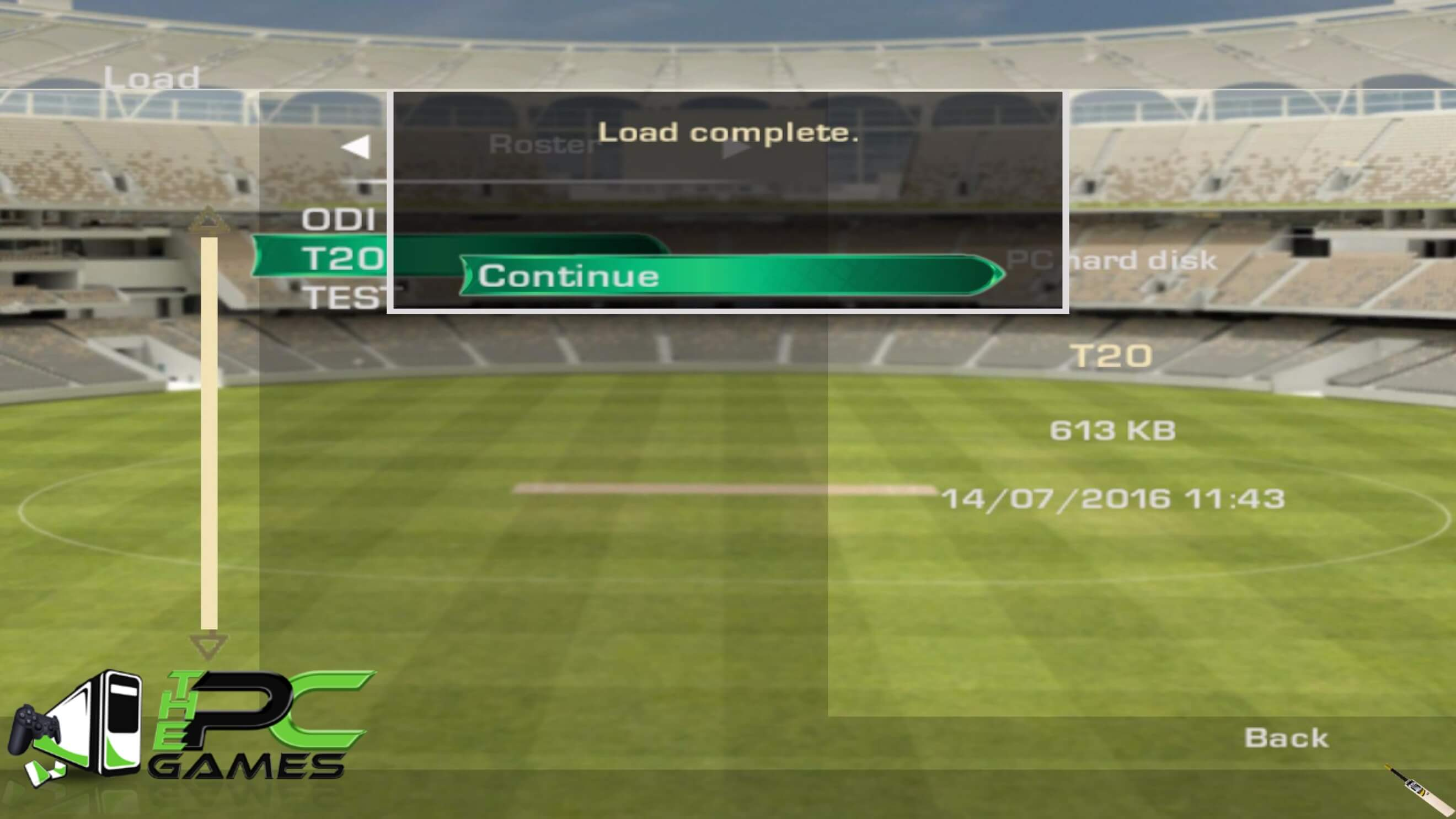 How to Load Roster (T20-ODI-Test) Tutorial (6)