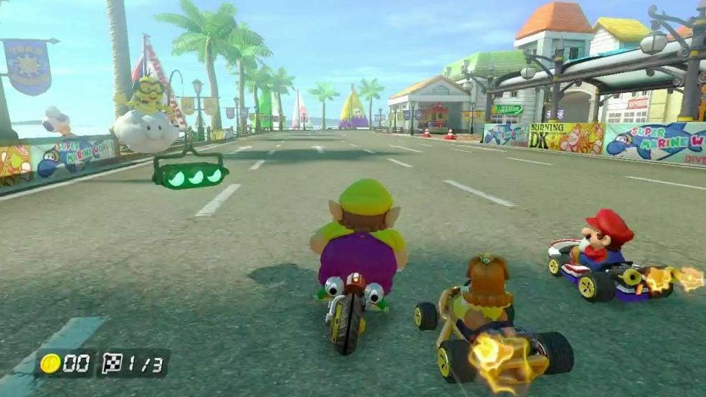 free games mario kart