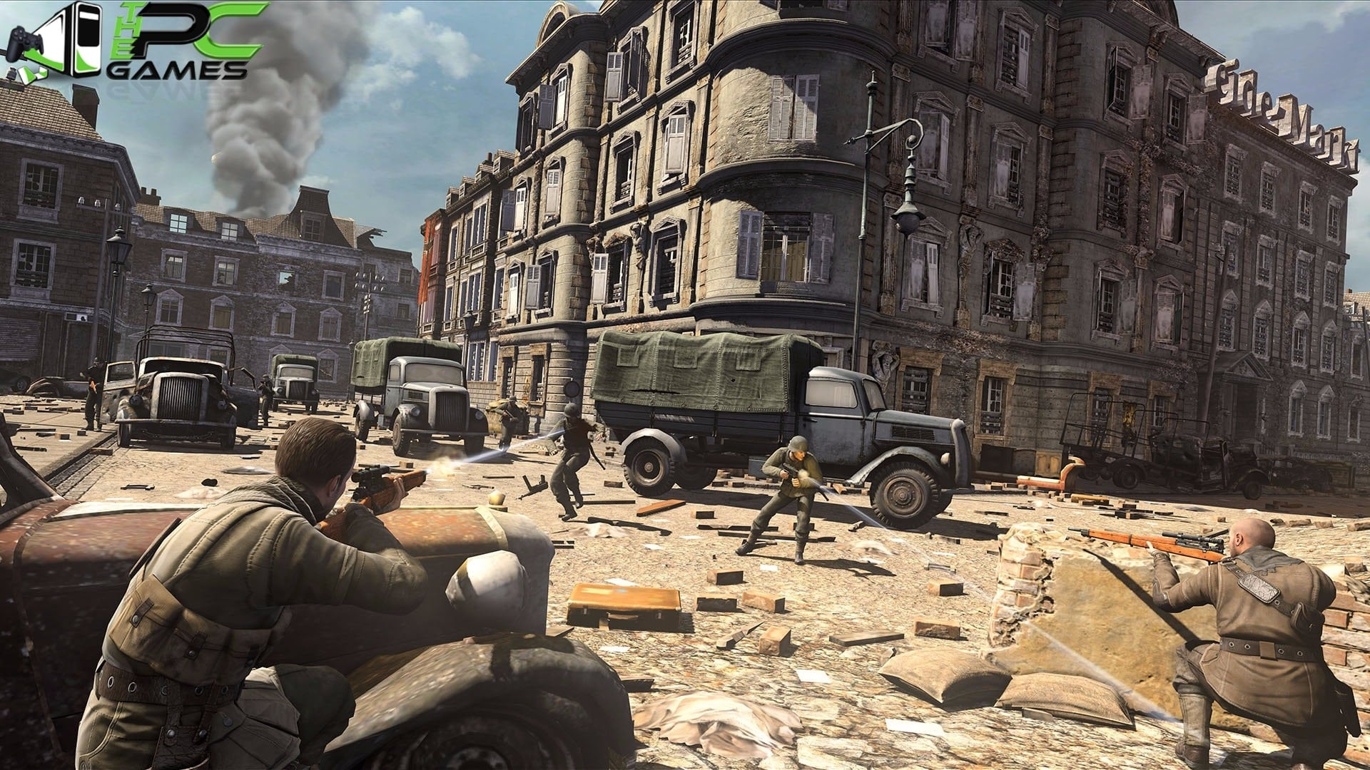 sniper elite v1 pc game free download full version