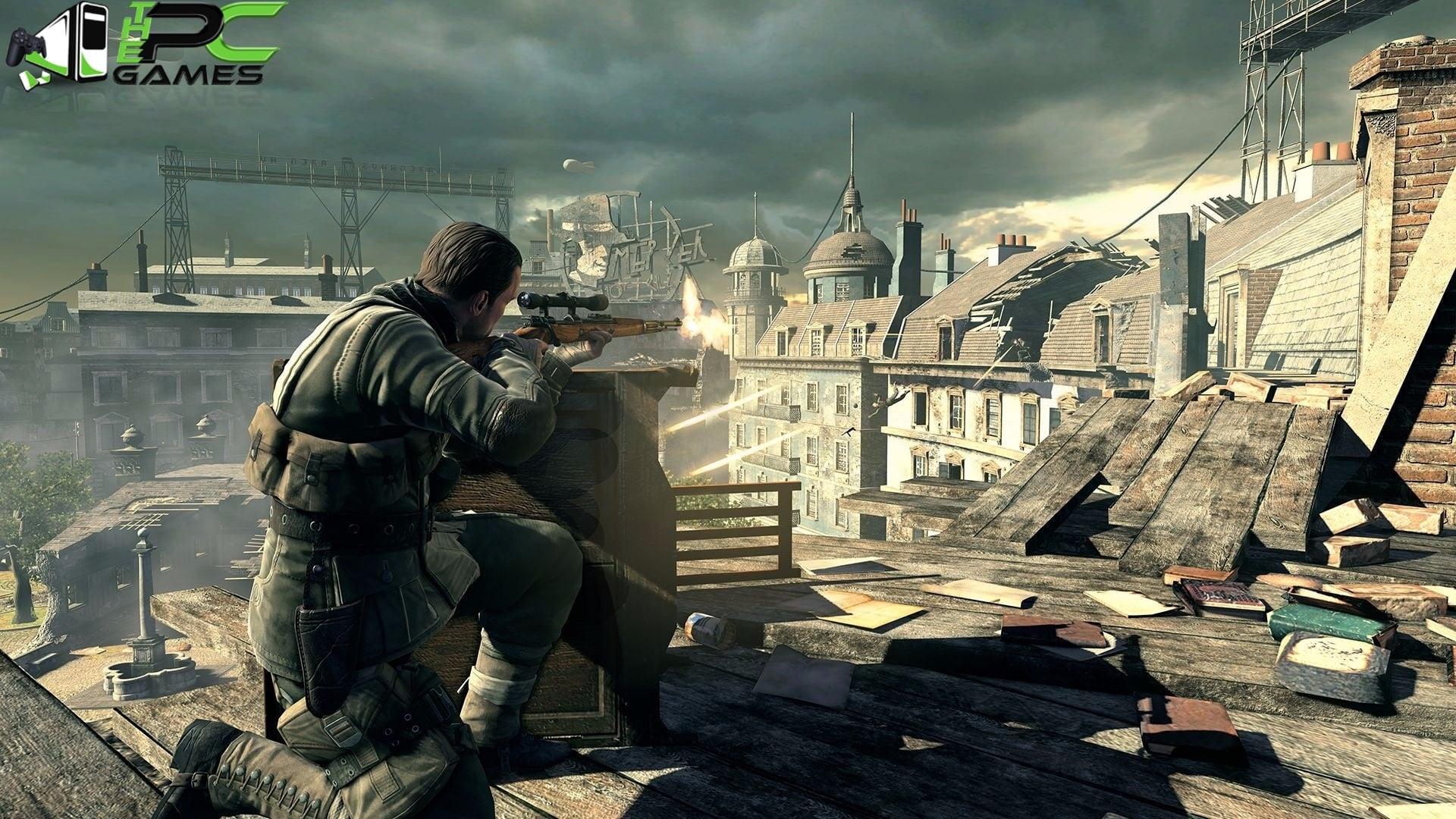Ocean of games » sniper elite v2 free download.