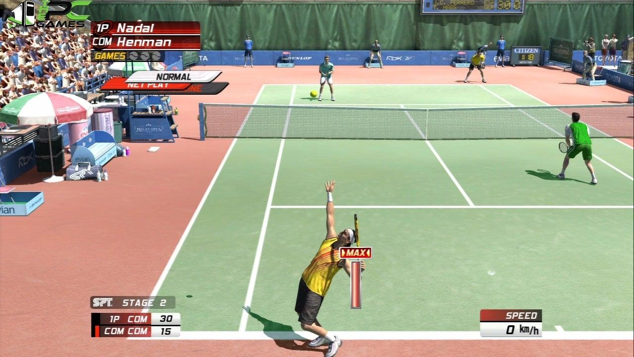 Скачать бесплатно virtual tennis 3 на компьютер