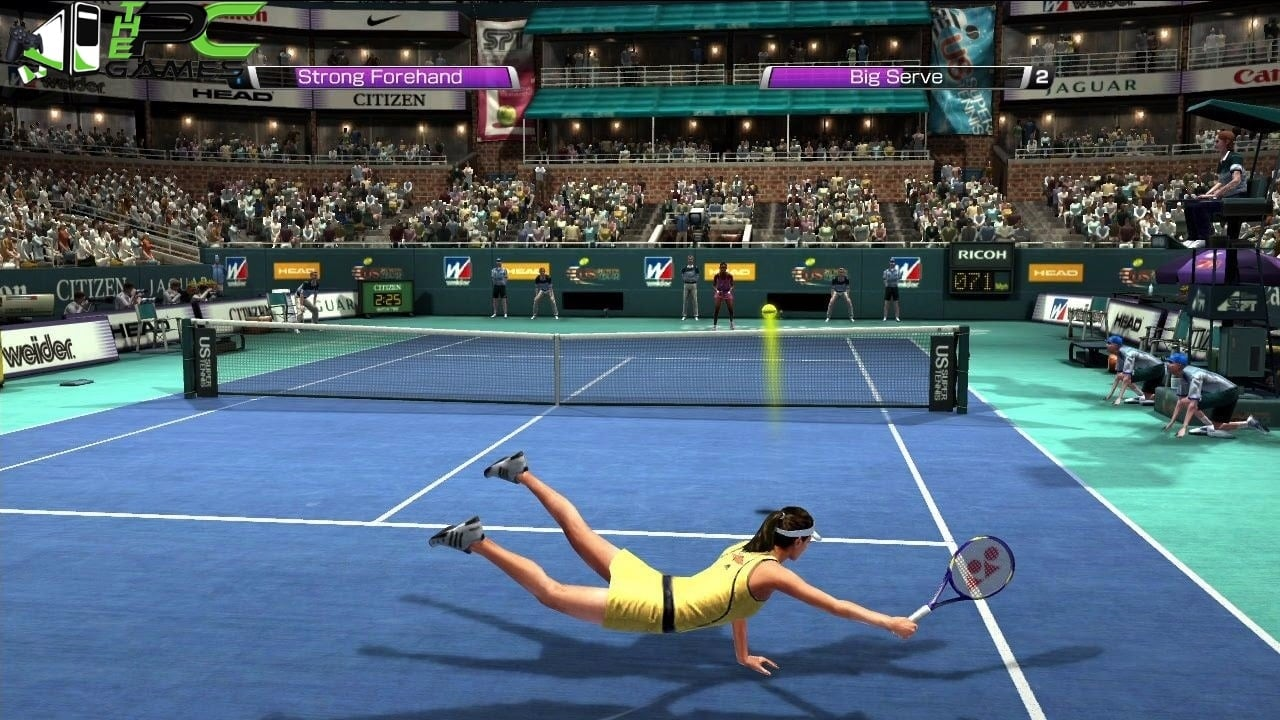 tennis games pc