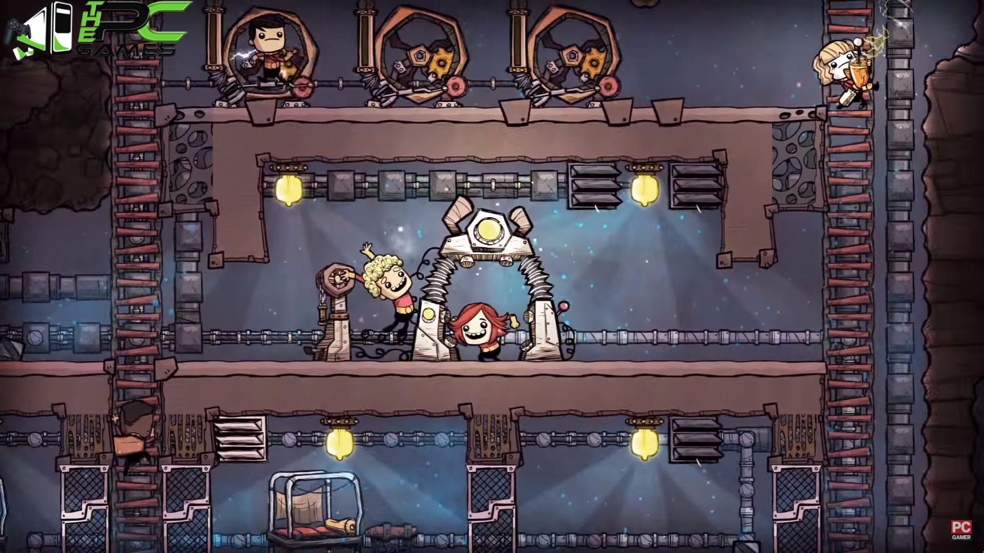 oxygen not included how to connect
