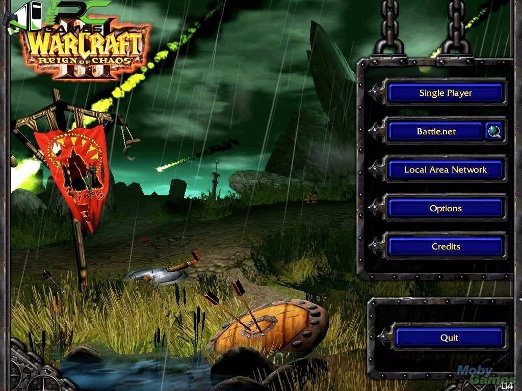 Download crack warcraft 3 reign of chaos no cd free
