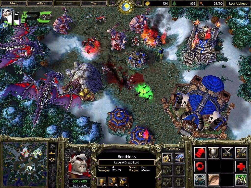 Warcraft III The Frozen Throne Free Download - IPC Games