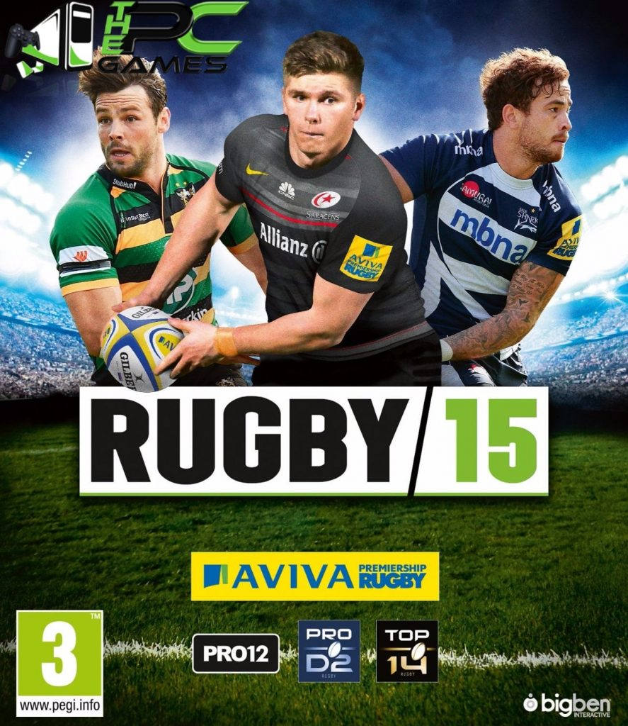 Rugby 15 PC Game Free Download