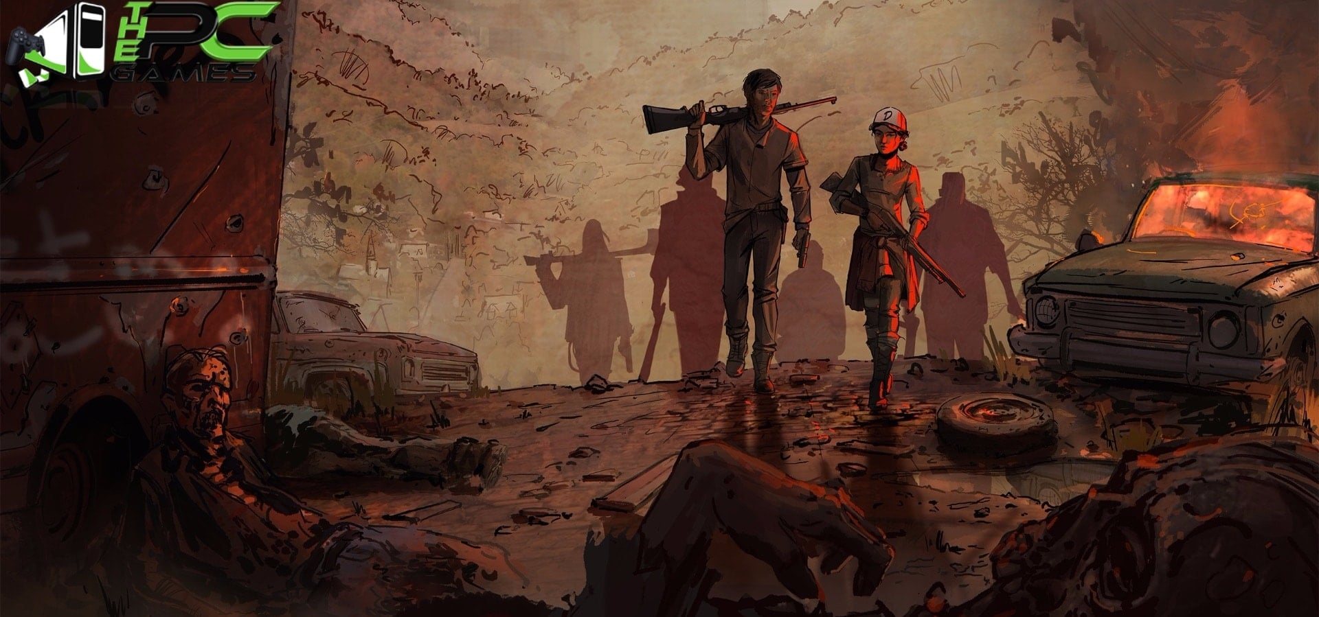 the walking dead a new frontier download pc