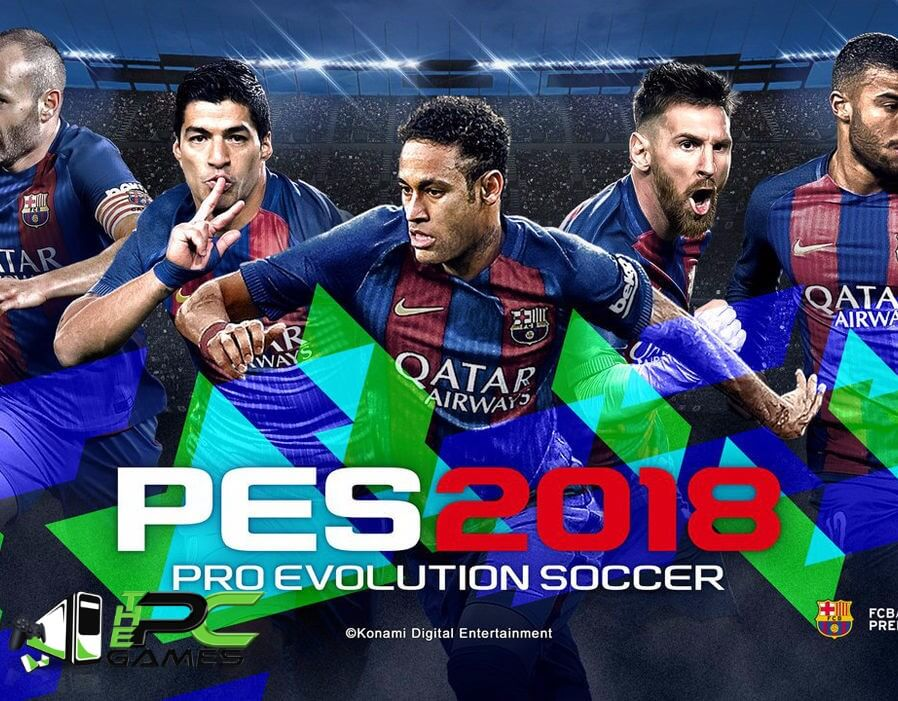 pro evolution soccer 2018 rar