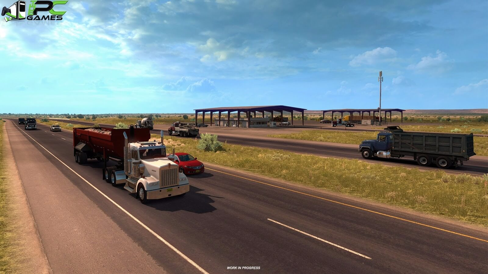 Buy American Truck Simulator: New Mexico DLC Steam
