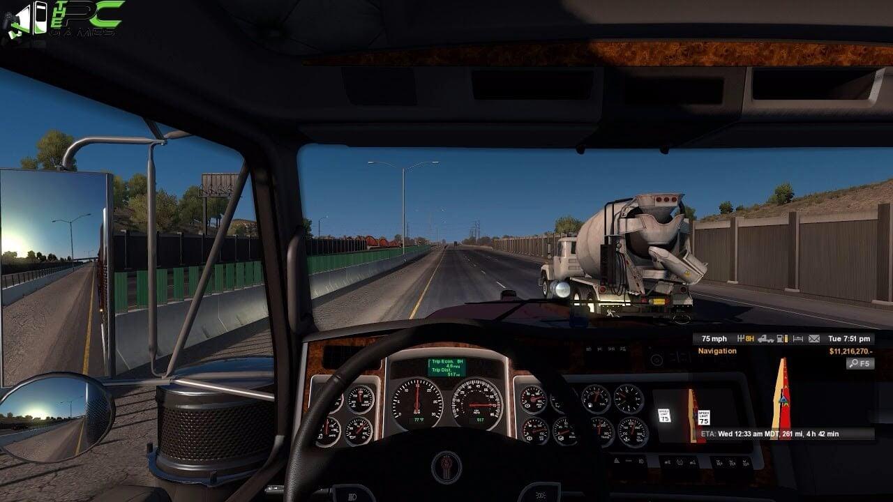 Euro Truck Simulator (free version) download for PC