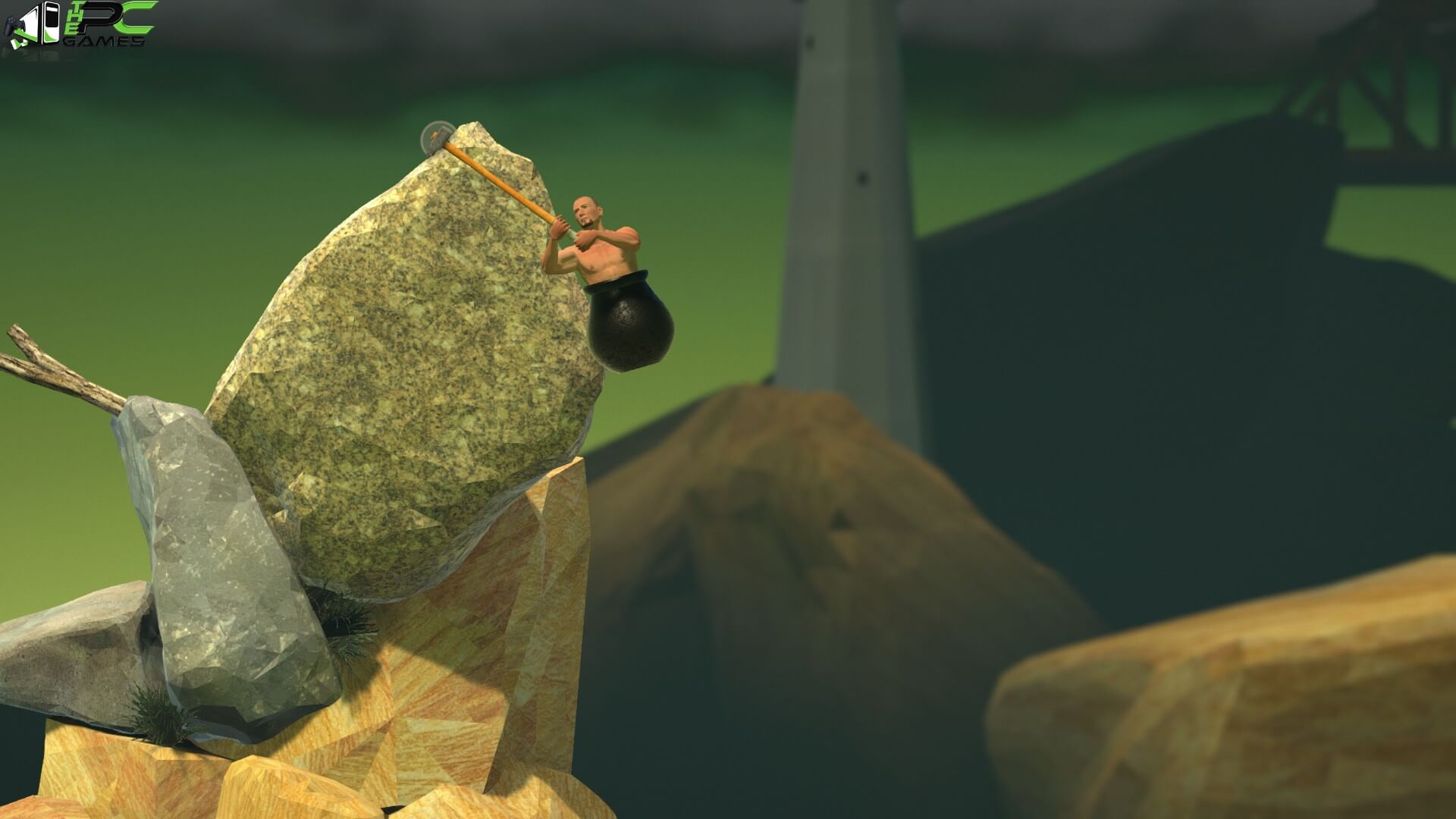 getting over it with bennett foddy apk pc