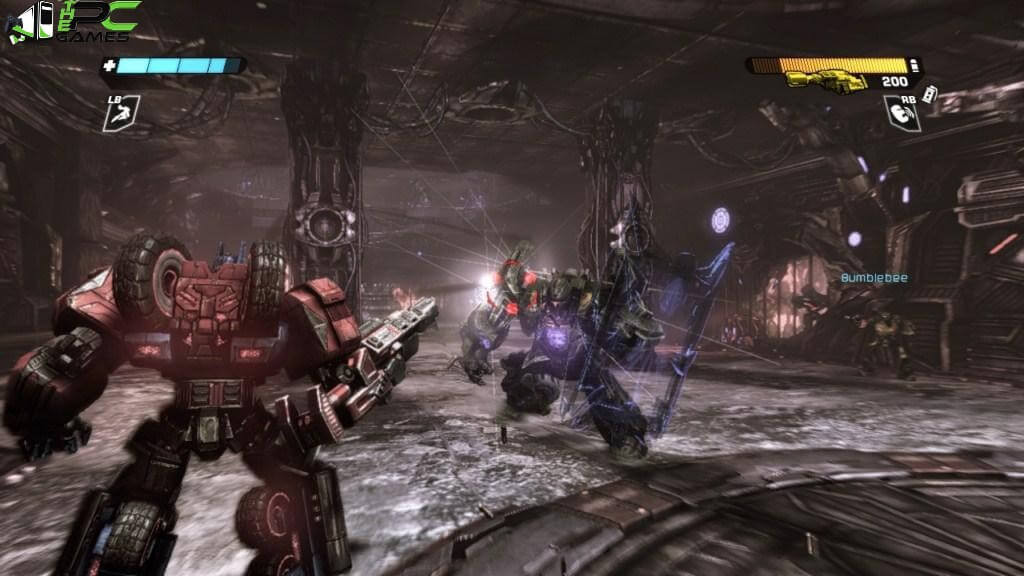 Transformers War For Cybertron PC Archives