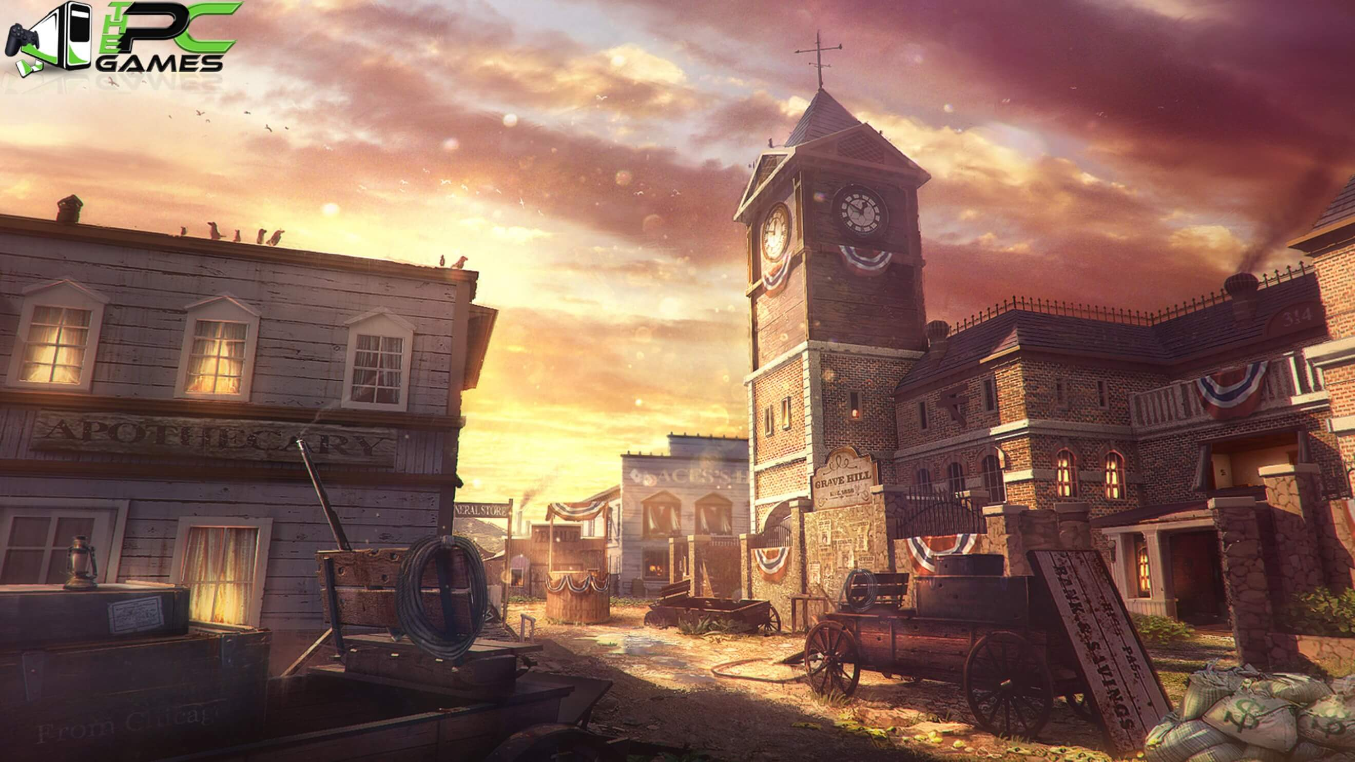 Call of Duty Black Ops 3 Salvation DLC Outlaw Map