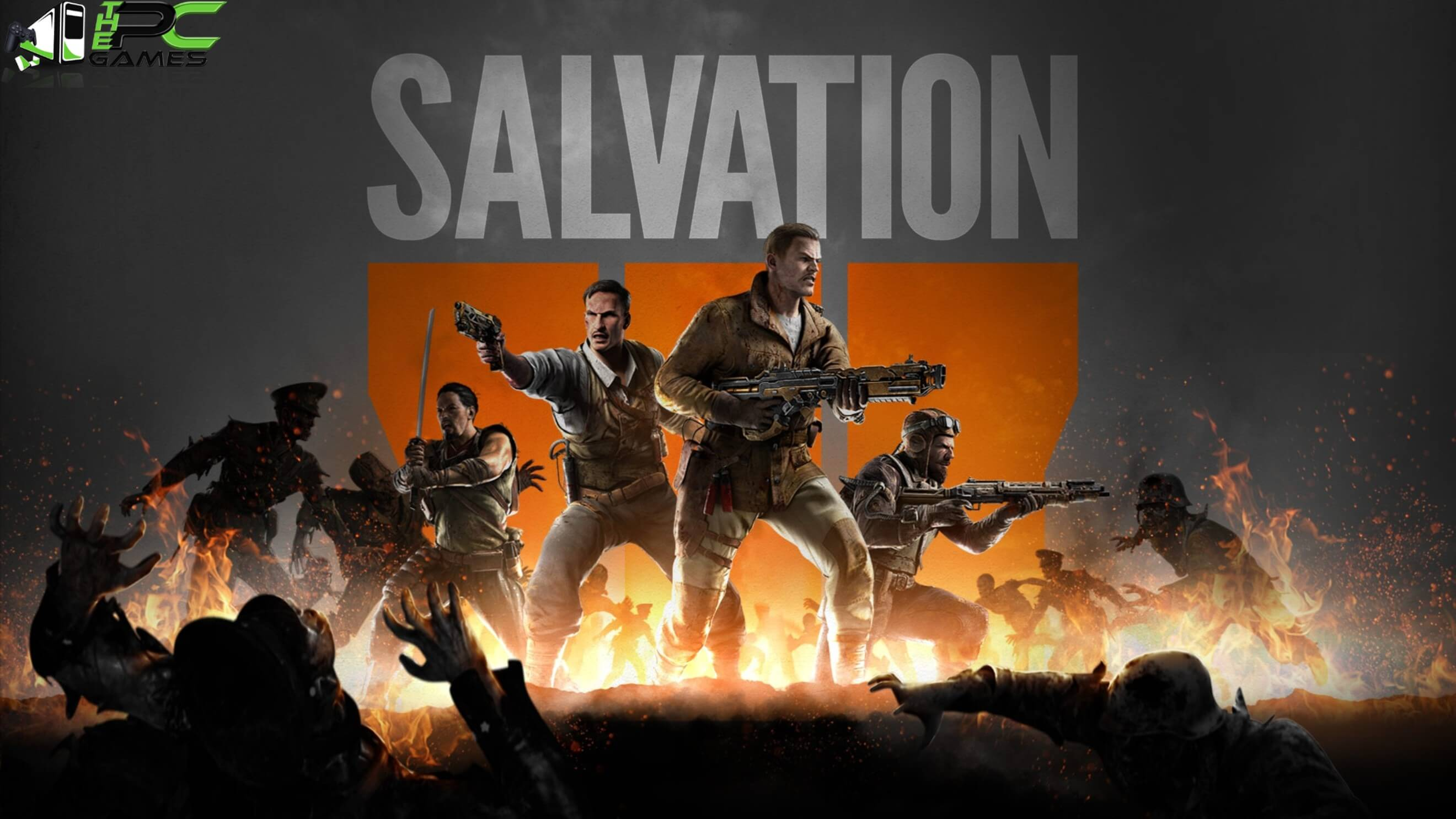 Call of Duty Black Ops 3 Salvation DLC Poster