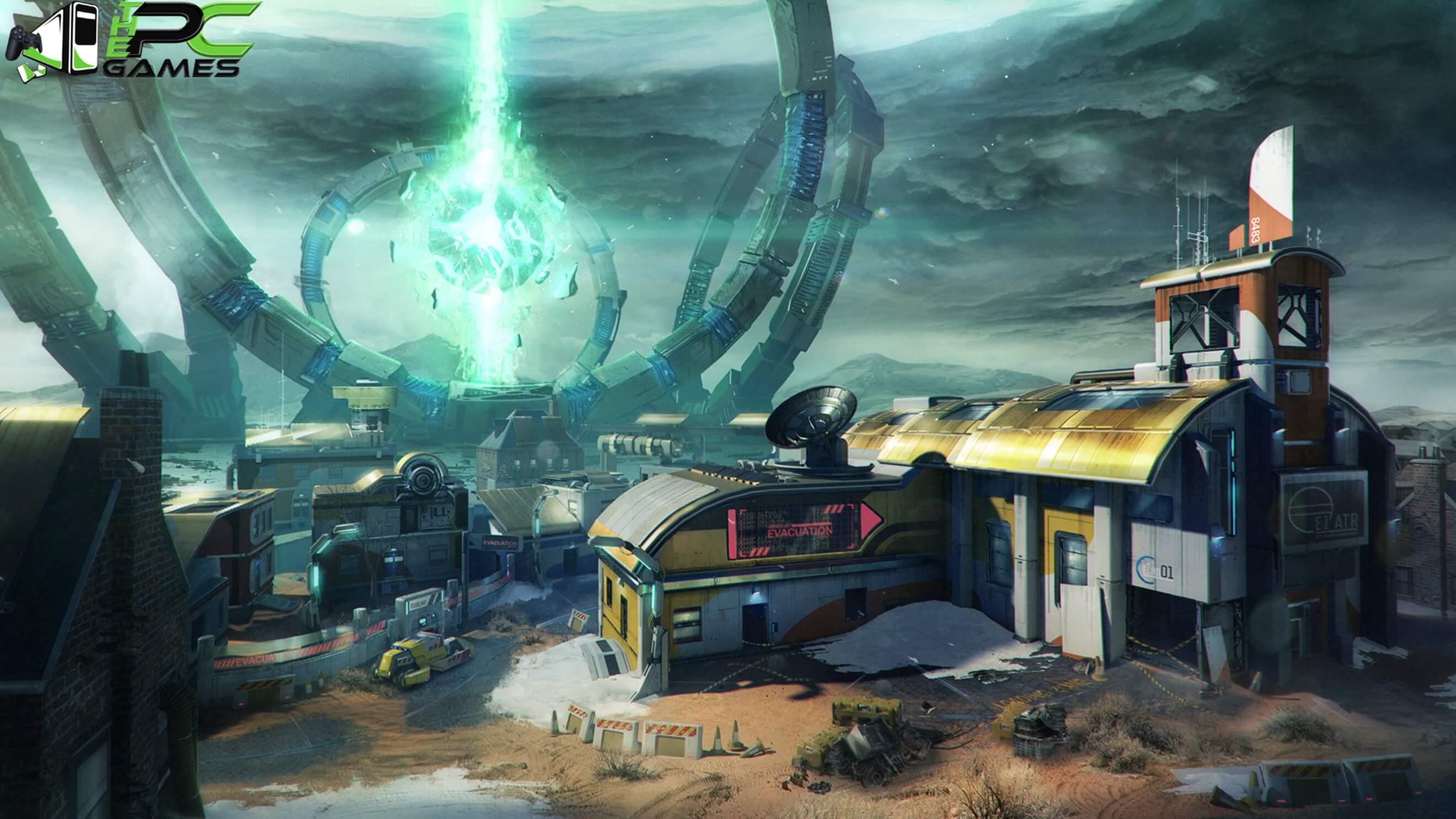 Call of Duty Black Ops 3 Salvation DLC Rupture Map
