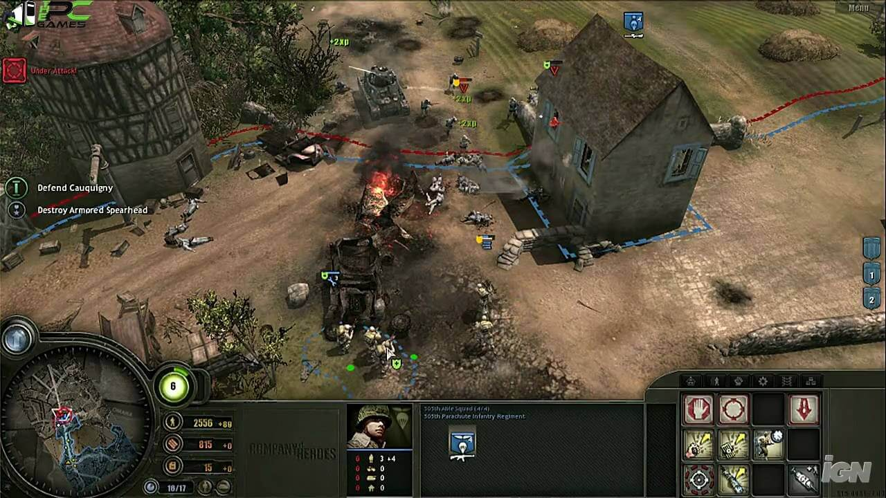company of heroes 1 free download full game crack