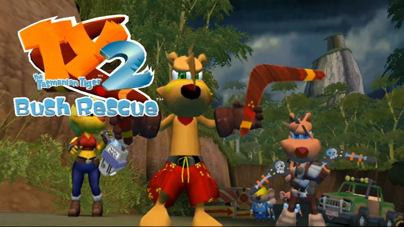 TY the Tasmanian Tiger 2Free Download