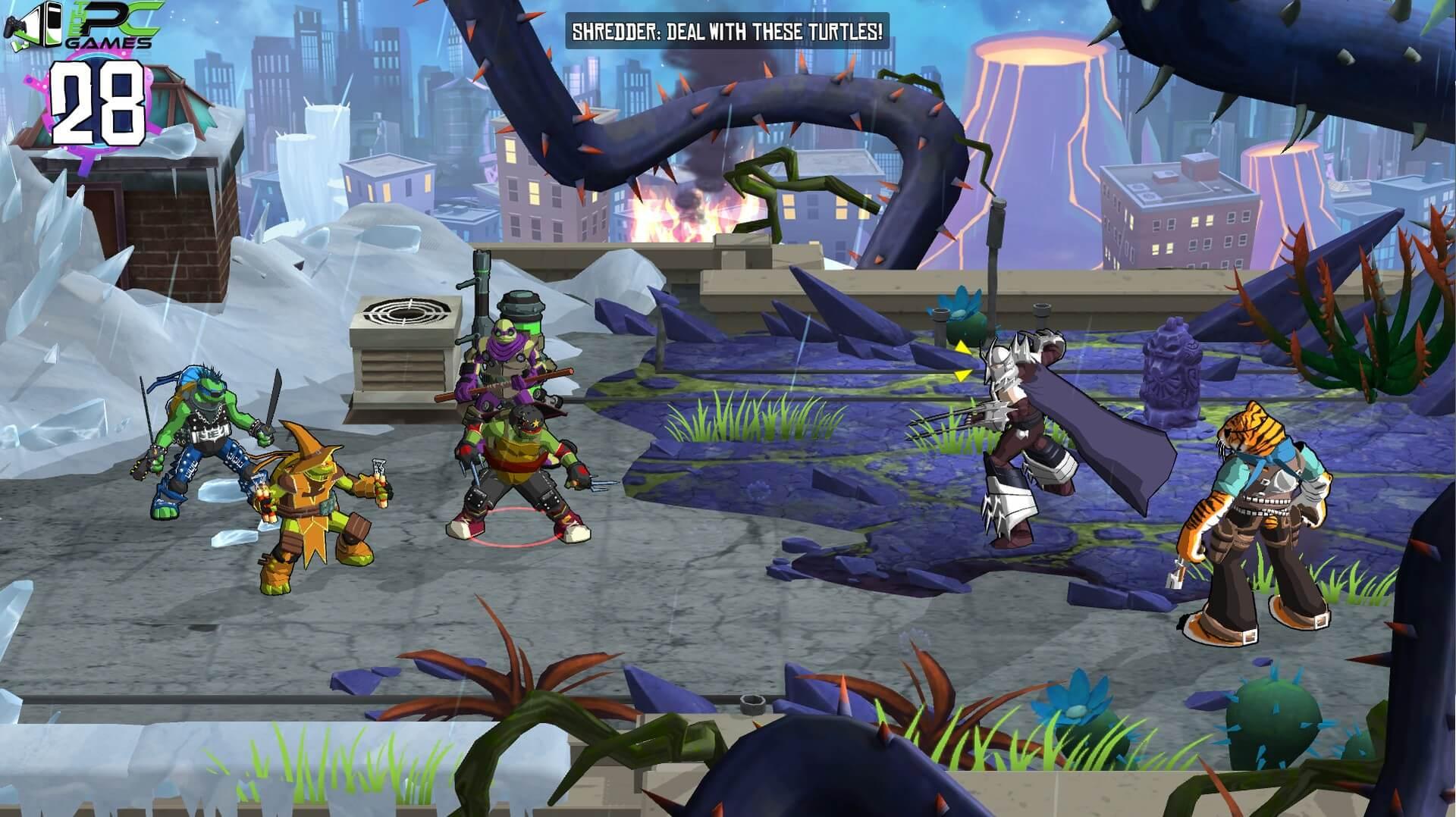 ninja turtles pc game free download full version