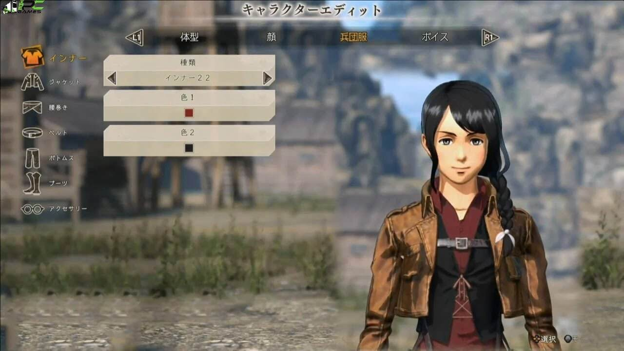 Attack on Titan 2 Download PC Game + 5 DLCs Highly Compressed