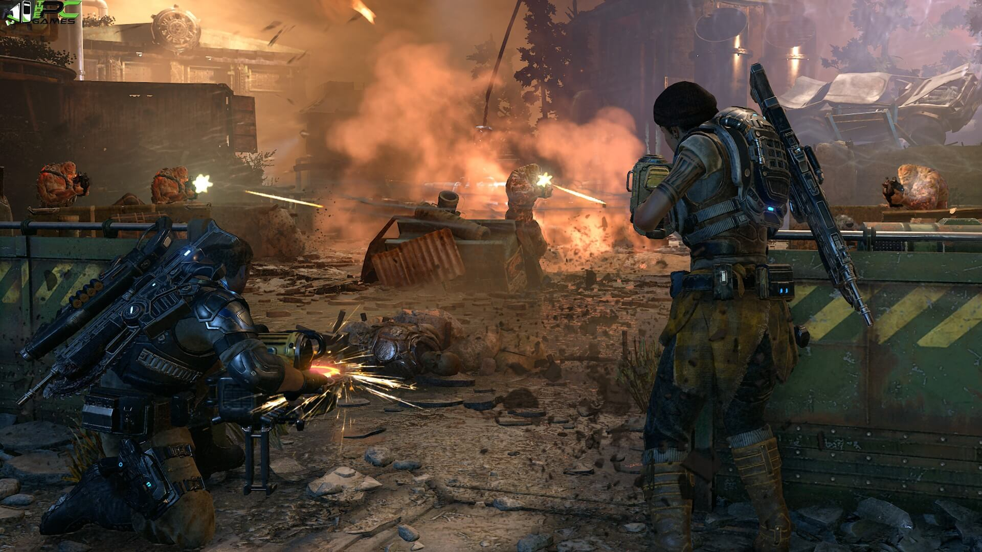 download gears of war pc game highly compressed