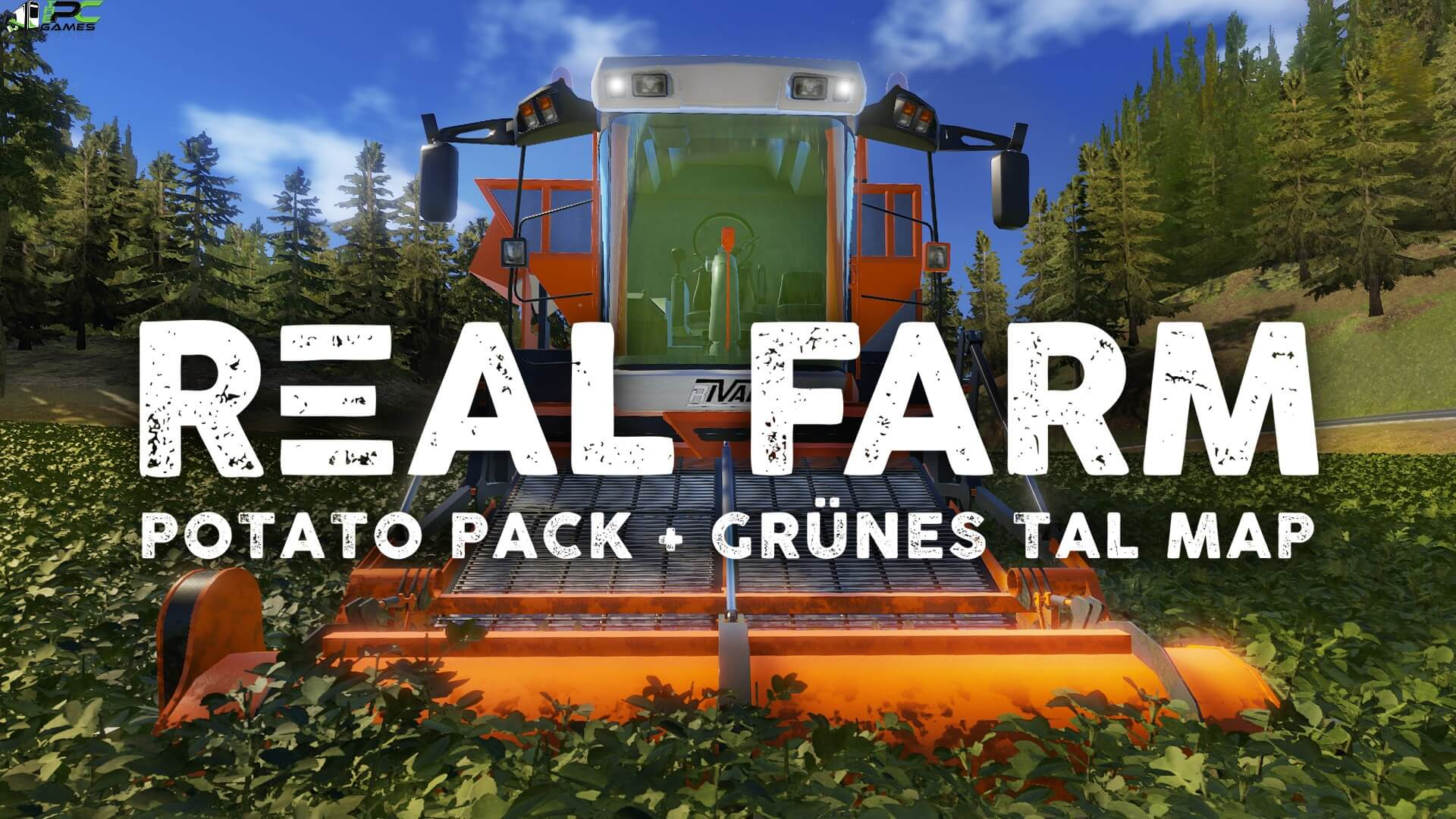 Real Farm Grunes Tal Map and Potato PackFree Download