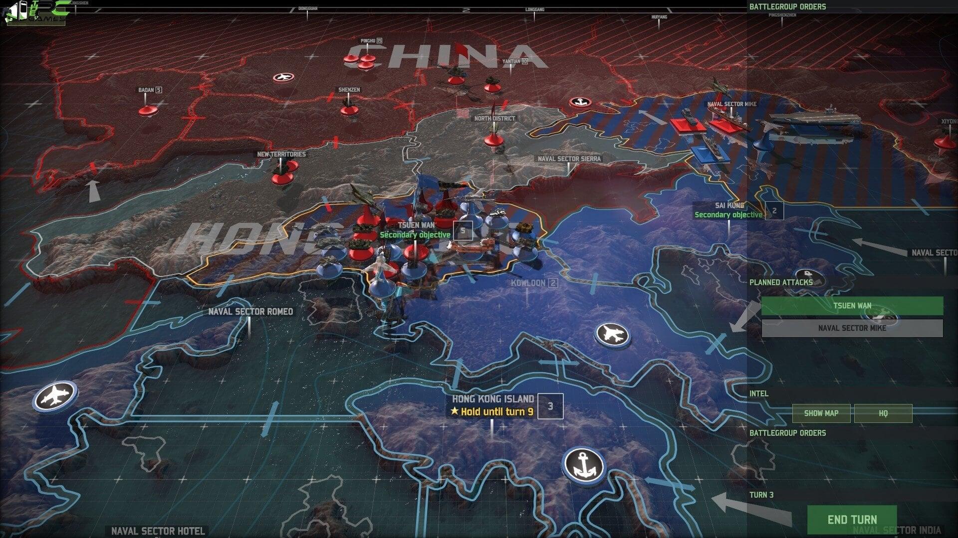 Wargame Red Dragon PC Game Free Download