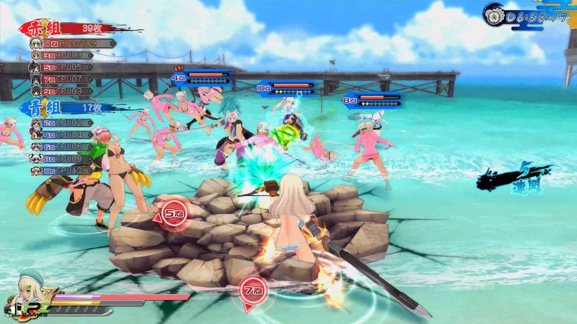 senran kagura shinovi versus pc free download