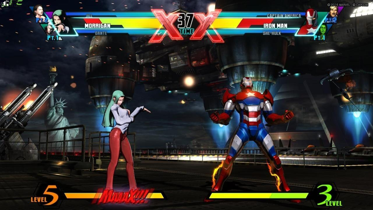 Marvel vs capcom 3 game