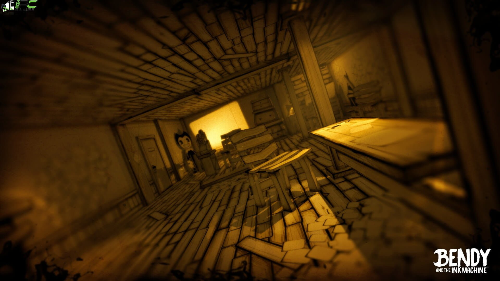 Bendy and the Ink Machine (Chapter 1+2+3+4) Free Download