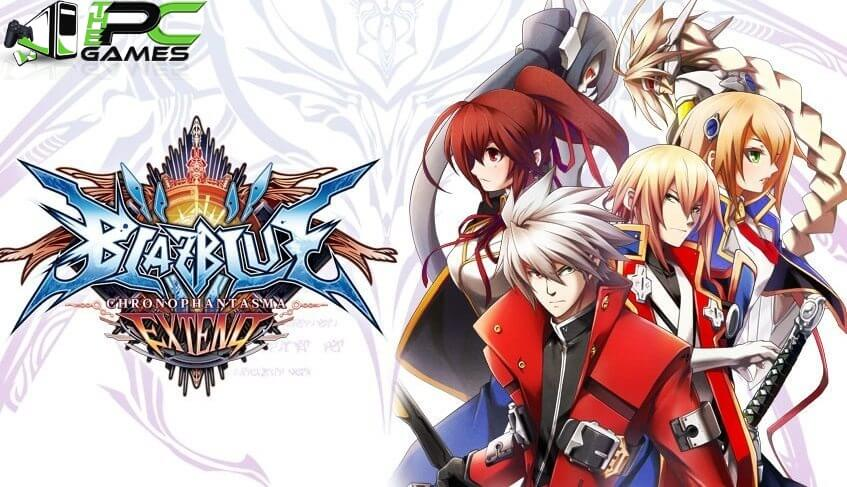 BlazBlue Chronophantasma Extend pc game free download
