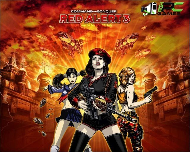 Command & Conquer Red Alert 3 game free download